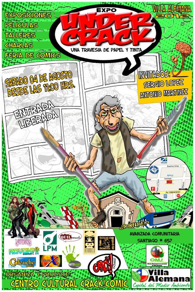 EXPO UNDERCRACK VILLA ALEMANA 2012