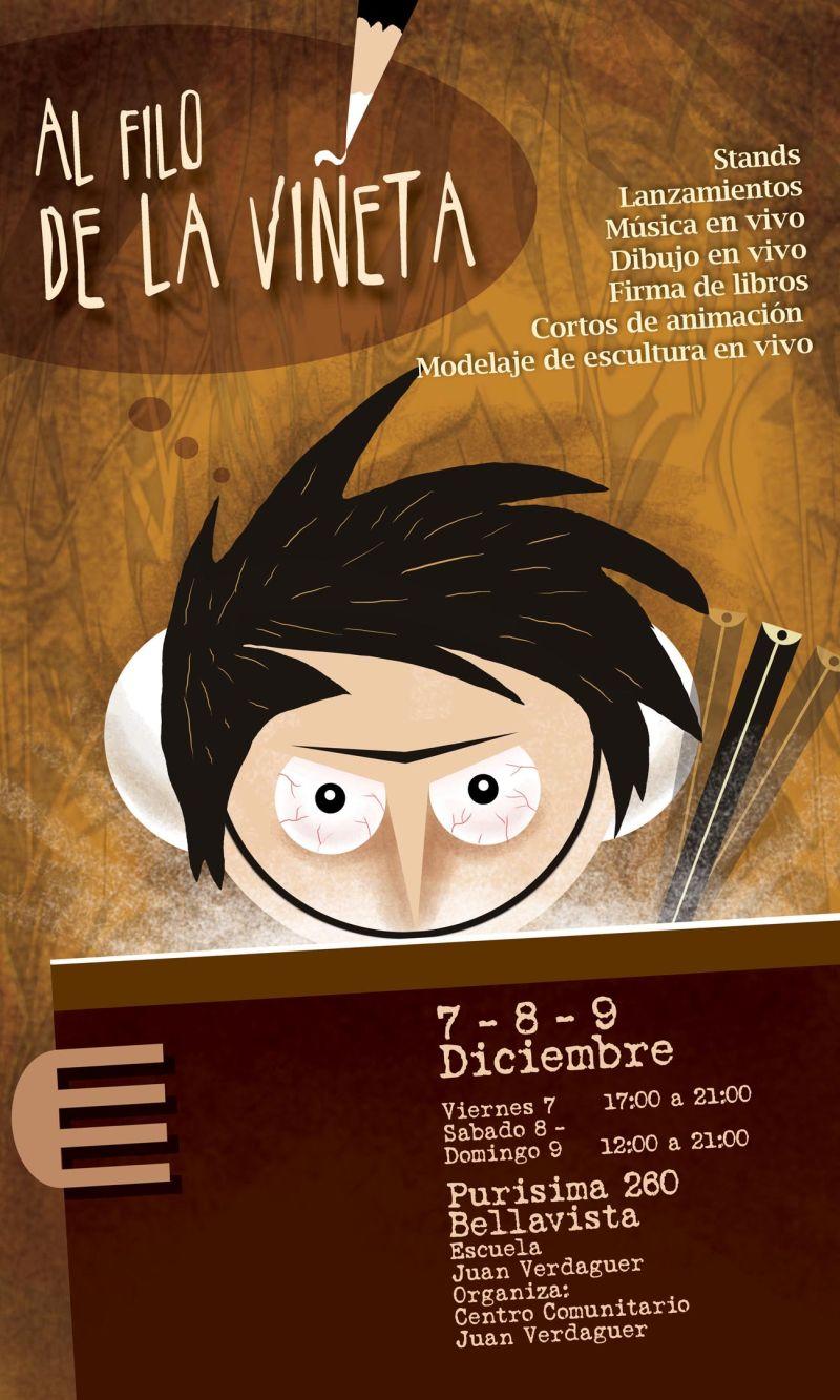 """Mitómano Cómics confirmado para el evento """"Al Filo de la Viñeta"""""""