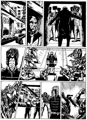 Páginas alternativas de los Husares de la Muerte por Eduardo Marquez