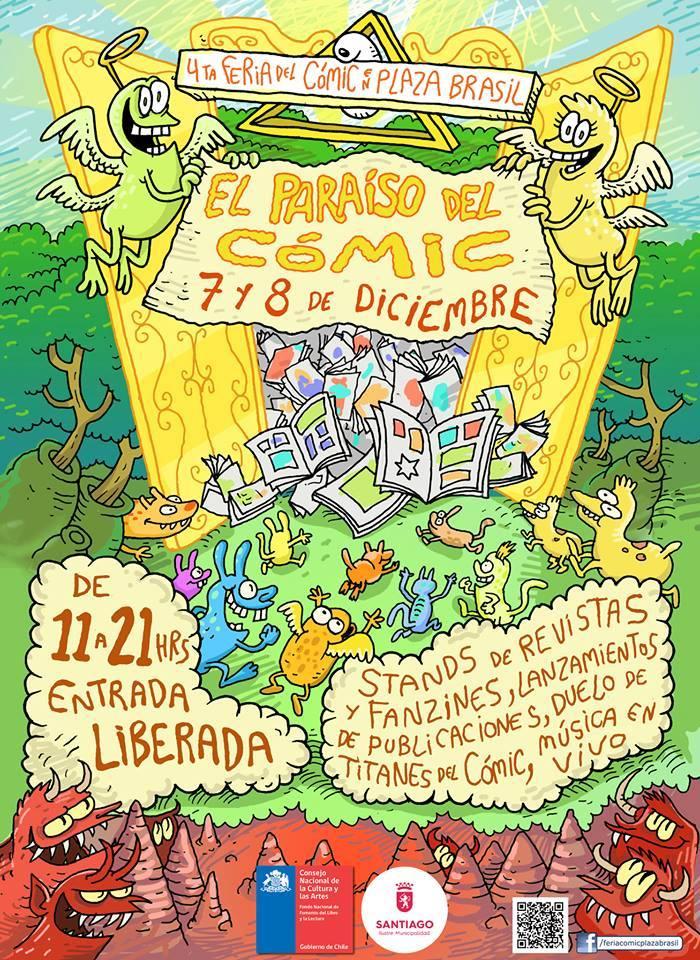 """4º Feria de Cómic en Plaza Brasil: """" El Paraíso del Cómic"""""""